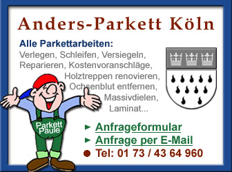Parkett verlegen in Köln